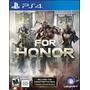 For Honor - Playstation 4 Ps4 Fisico Envio Gratis | JIMMYNET10