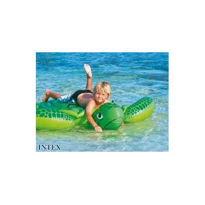 Tortuga flotador inflable piscina intex cn agarraderas for Piscina inflable intex