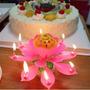 Velas Magicas Musical Flor De Loto Cumpleaños | JESUSGPAREDES