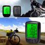 Velocímetro Odómetro Computador Para Bicicleta Lcd Luz | CAMARGOLV