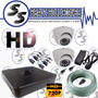 Combo Dvr Hd + 2 Cámaras + Disco De 500g + 30m Cable | GUITAR-JONZ