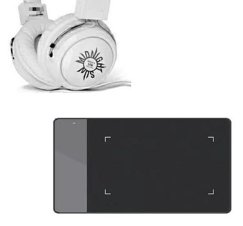 Tablet Para Dibujo Digital Más Auriculares B2st