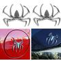 Danti Araña 3d Chrome Emblemas Placas Etiqueta Plateada Can Daewoo Espero/Aranos