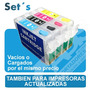 Set Cartuchos Recargables Epson Llenos Mejor Q Ciss Continuo | RAFABIZKIT