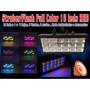 Strober Led Full Color 18x1 Rgb Audiorit, Auto Alto Poder | MERT2005