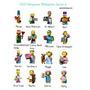 Lego Mini Figuras Simpsons | AIDE45